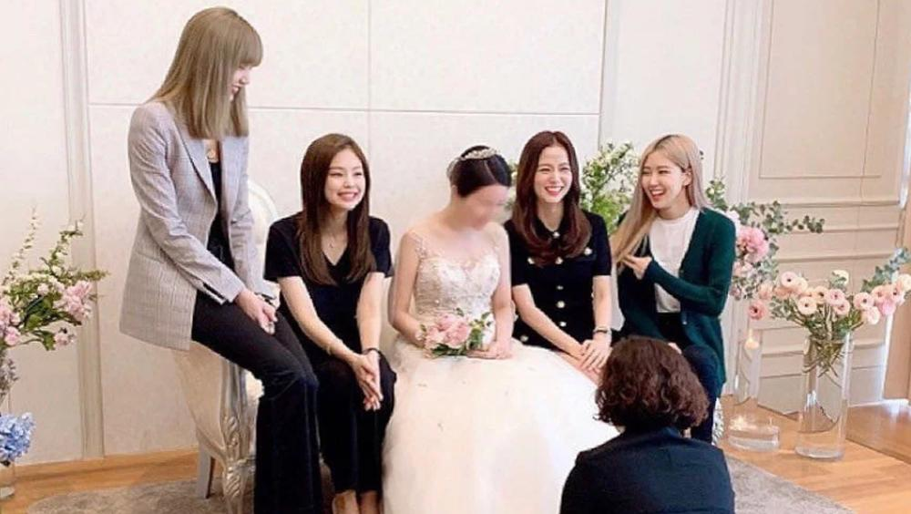 jisoo blackpink wedding brother