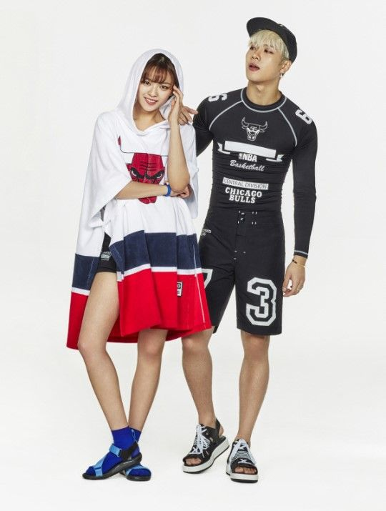 twice and got7's photoshoot for 'NBA'