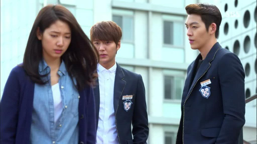 triangle love kdrama the heirs