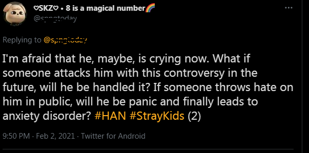 Stray Kids Han racist controversy